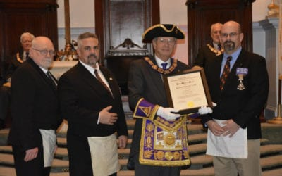 King David Lodge Receives Grand Masters Award