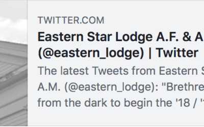Eastern Star Lodge A.F. & A.M. expands on social media