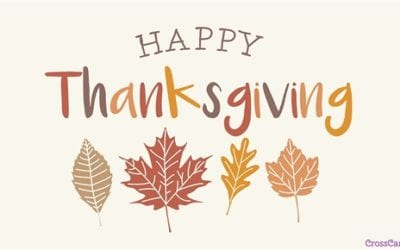 Happy Thanksgiving from Eastern Star Lodge A.F. & A.M.