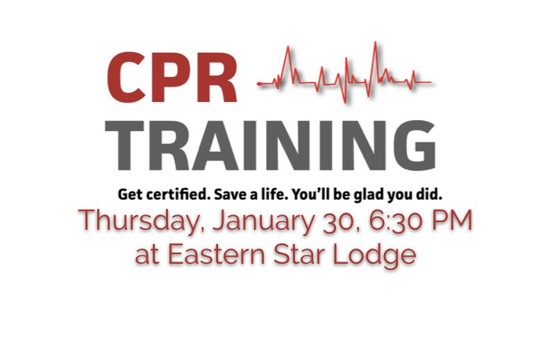 CPR Class at Eastern Star Lodge