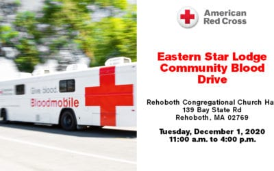 Community Blood Drive at Eastern Star Lodge