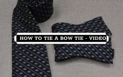 How to Tie a Bow Tie and Where to Buy