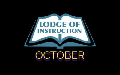 Lodge of Instruction October