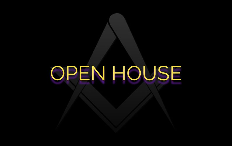 Open House at all MA Lodges