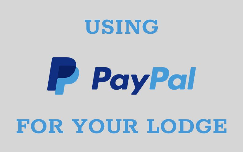 Using PayPal for Your Lodge